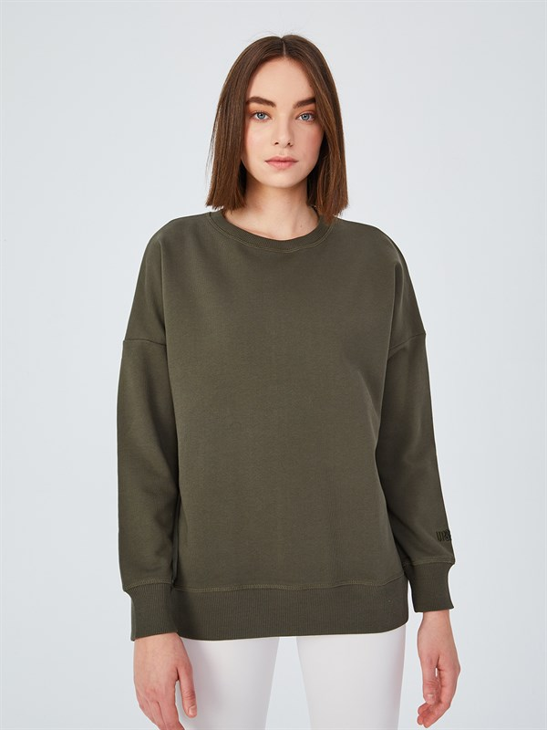 Basic Olive Sweatshirt