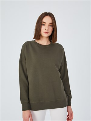 Up & Fit Olive Sweatshirt