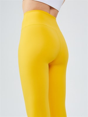 UP&FIT Push Up Yellow Legging